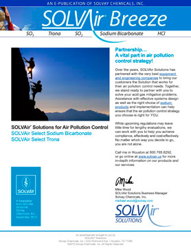 SOLVAir-Breeze E-Newsletter
